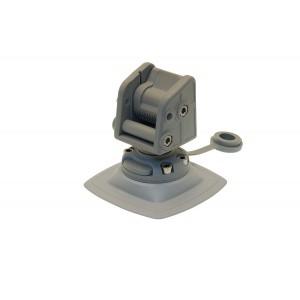 Стопорный узел для якоря с набором для установки на надувной борт (серый)