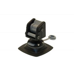 Стопорный узел для якоря с набором для установки на надувной борт (черный)
