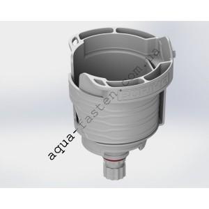 CUp Капхолдер ( Cupholder ) с адаптером в замок (серый)
