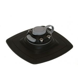 FMp225 Замок и усиленная монтажная площадка для установки на надувной борт (черный)