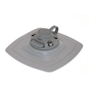 FMp225 Замок и усиленная монтажная площадка для установки на надувной борт (серый)