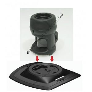 FMp219 Замок компактный и усиленная монтажная площадка для установки на надувной борт (черный)