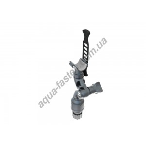 Lh130 Держатель с поворотно-наклонным механизмом и эластичным накидным фиксатором для фиксации предметов в диаметре до 30 мм