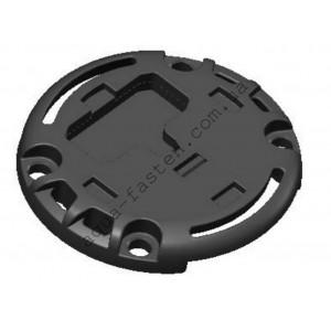 Монтажная площадка для установки на жесткую поверхность компактного замка Fs218 (черный)