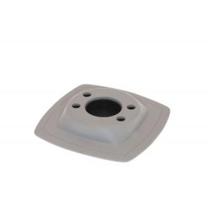 Mp224 Монтажная ПВХ-площадка (110 х 110 мм) (серый)