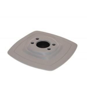 Mp225 Монтажная ПВХ-площадка (140 х 140 мм) (серый)