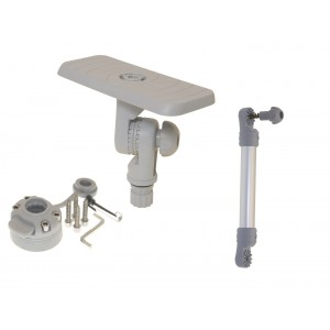 SStxb223 (SSt223+Ex325+FMb) Площадка 164*68 для эхолота и другого оборудования с удлинителем и поворотно-наклонным механизмом и набором для установки на жесткий борт (серый)