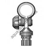 RLp035 Пластиковая уключина для весел Ø 35мм или труб с таким диаметром (серый)