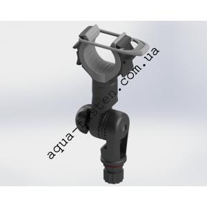 Rh101 Держатель удилища с эластичным прижимом и механизмом наклона (черный)