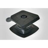 Slp223 (Sl223+Fmp224) Площадка 100*100 мм для эхолота и другого оборудования с набором для установки на надувной борт