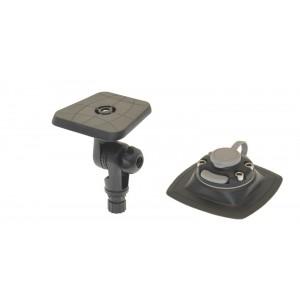 Sltp223 (Slt223+Fmp224) Площадка 100*100 мм для эхолота и другого оборудования c поворотно-наклонным механизмом и с набором для установки на надувной борт