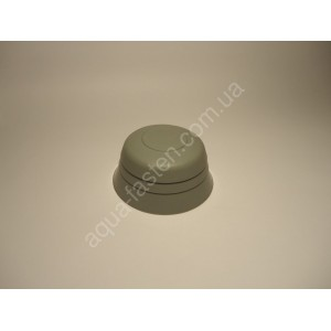 Заглушка конуса (ø видимой части 80 мм) серый