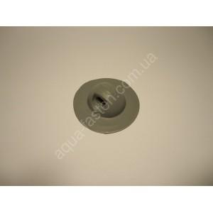 Держатель леера (основание ø 80 мм) серый