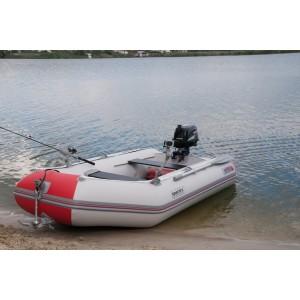 Лодка надувная Шельф СК 290SKF FASTen (серо-красный)