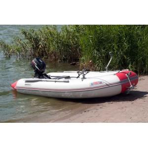 Лодка надувная Шельф СК 330 SKF FASTen (серо-красный)