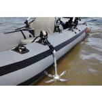 Выбор и особенности крепления якоря для надувной лодки