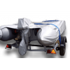 Особенности транспортировки надувной лодки, перевозка лодки ПВХ с мотором с помощью прицепа