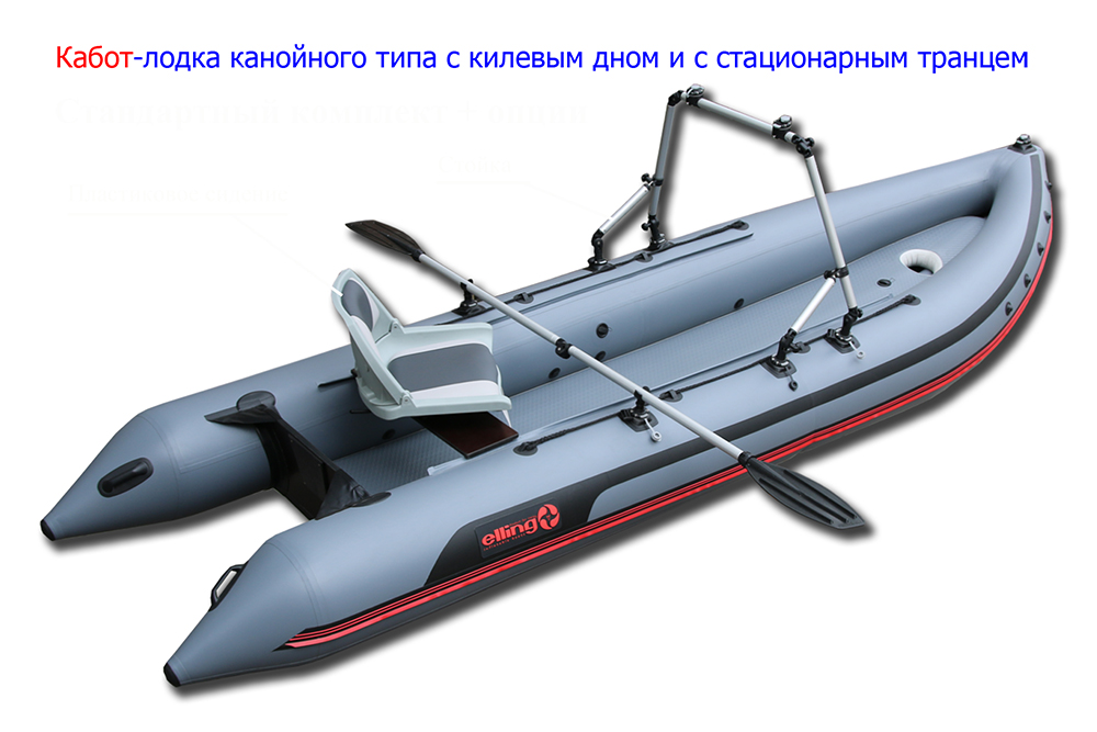 лодки каячного типа с килем